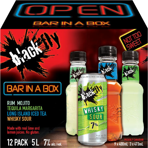 Black Fly - Bar in a Box Party Pack