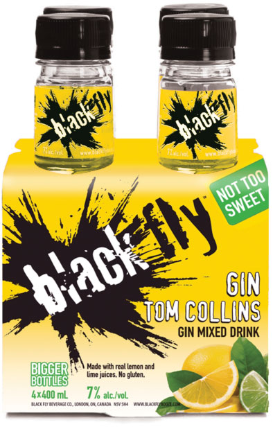Black Fly - Gin Tom Collins