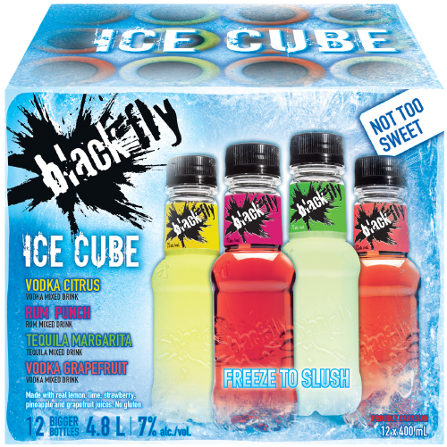Black Fly - Ice Cube Party Pack
