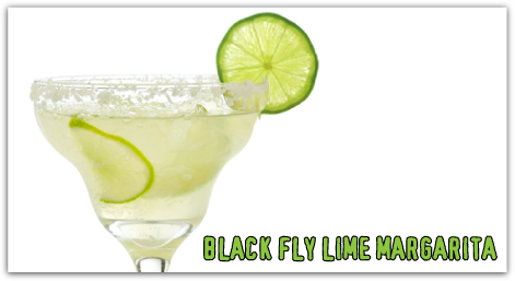 Black Fly Lime Margarita