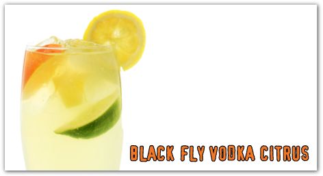 Black Fly Vodka Citrus