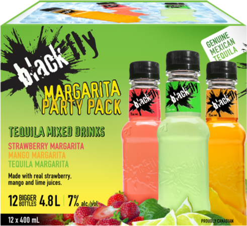 Black Fly - Margarita Party Pack