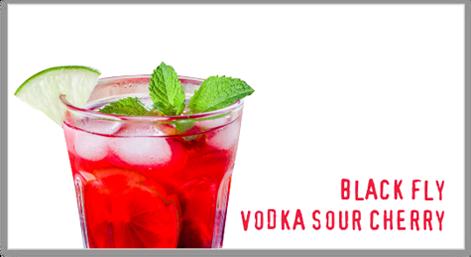 Vodka Sour Cherry | Black Fly Beverages