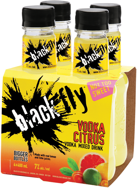 Black Fly - vodka Citrus