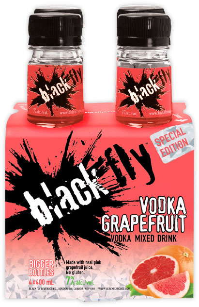 Black Fly - Vodka Grapefruit