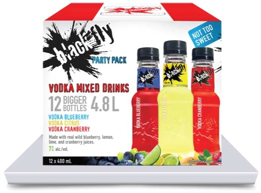 Vodka Mixed Drinks Party Pack