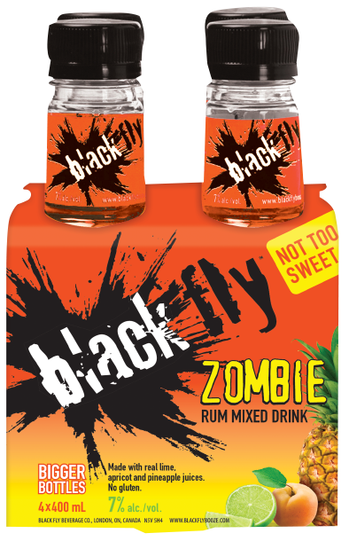 Black Fly - Zombie Rum Mixed Drink