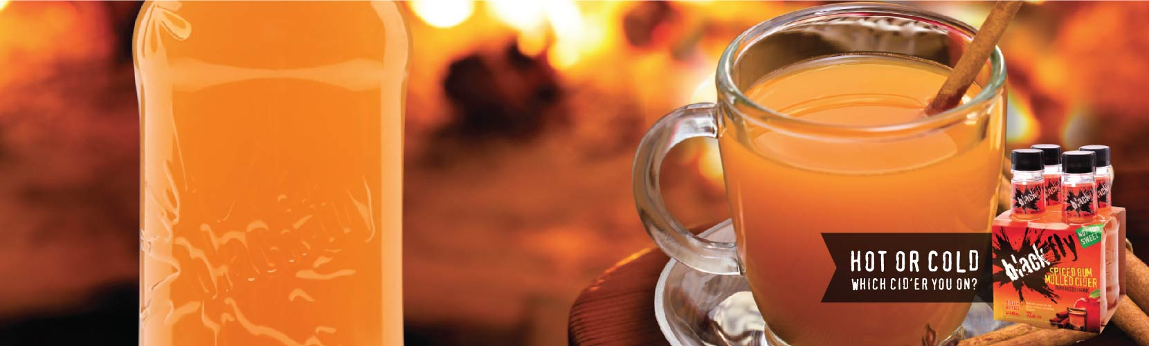 Spived Rum Mulled Cider